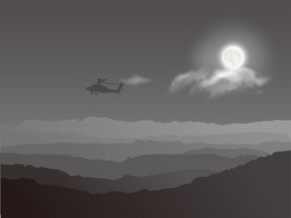 Helicopter and War