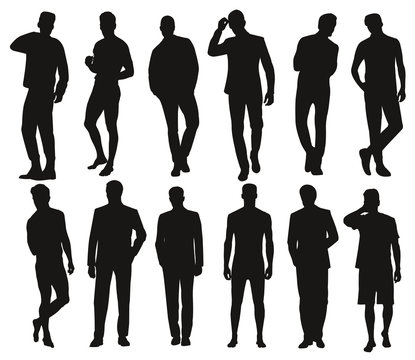 Silhouette hommes