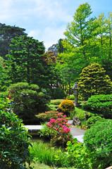 San Francisco: il Japanese Tea Garden il 16 giugno 2010. Creato nel 1894 all'interno del Golden Gate Park, è il più antico giardino pubblico giapponese negli Stati Uniti