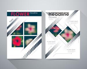 Flower Headline, Flower concept design, Online Design Magazine,
