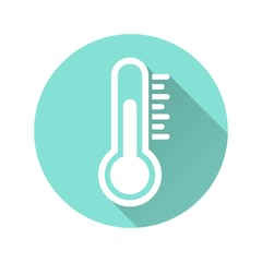 Thermometer - vector icon.