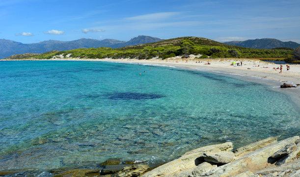 Plage de Saleccia, Corse