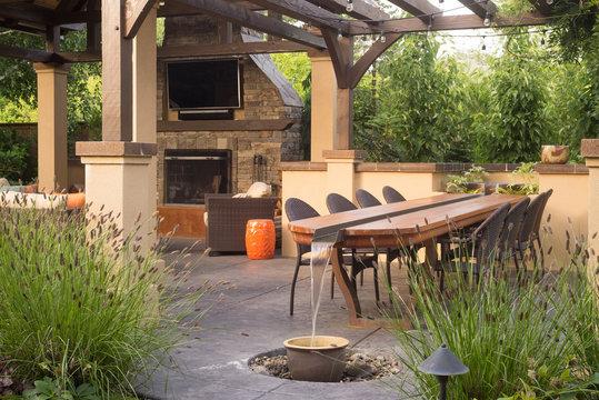 Custom Backyard Patio