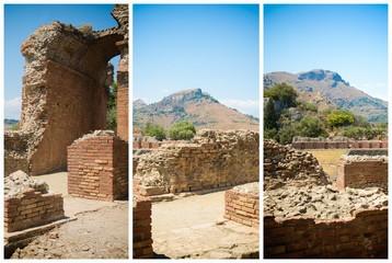 Ancient Greek theater in Taormina
