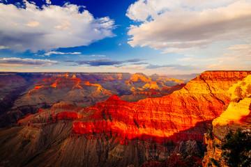 Wall Murals Canyon Mather Point, View Point, Grand Canyon National Park, Arizona, U