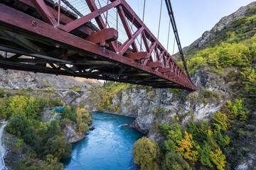 Kawarau bridge, New Zealand