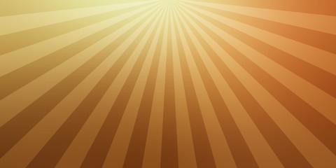 retro gold and brown background sunburst design