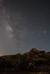Milky Way Silverbell Arizona