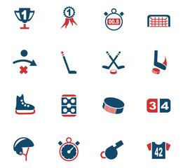 hockey icon set