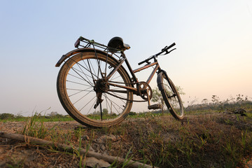 Picture vintage bicycle