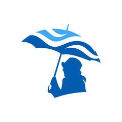 Water Icon Vector Logo
