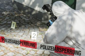 kriminaltechnische Untersuchung
