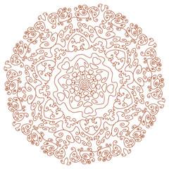Circular ornament Mehndi Henna Tattoo Mandala