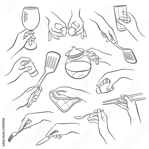 how to draw anime hands holding something