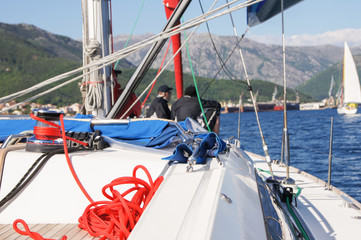Part of yacht rigging.