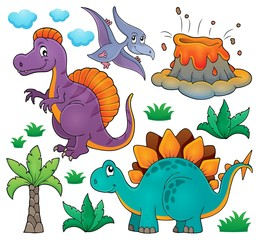 Dinosaur topic set 2