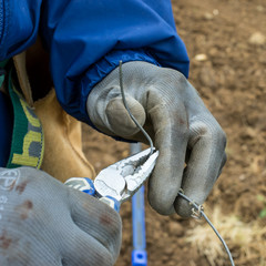 réparation fil des vignes