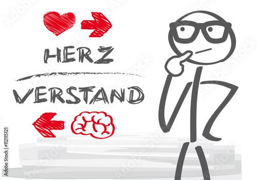 Herz und Verstand Stockfotos und lizenzfreie Vektoren