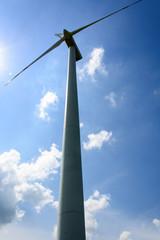 Single wind turbine propeller