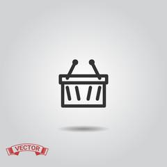 Shopping Basket Icon, Shopping Basket Icon Flat Design, Shopping