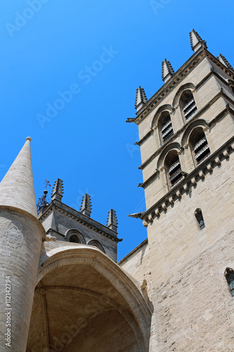 Cath drale saint pierre de montpellier stock photo and - Cathedrale saint pierre de montpellier ...