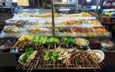Traditional asian market