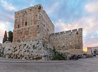 Ancient Citadel inside Old City, Jerusalem
