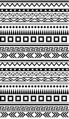 Seamless ethnic geometric pattern for textile, fabrics or other. Seamless background. Ethnic vector Background. Ethnic simple illustration.