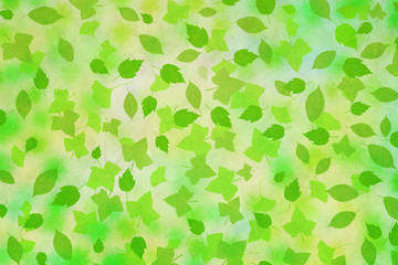 木の葉模様