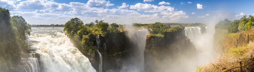 Victoria Falls Africa Panorama