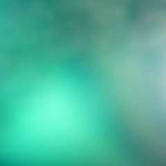 Turquoise green gradient abstract background