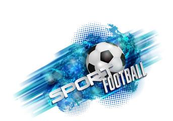 football banner ball