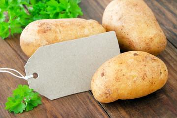 Fototapete - Kartoffeln