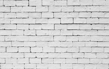 White stone blick wall texture background.