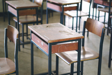 Thai school desk