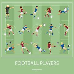 317_Set of football players.