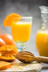 hand squeezed orange juice
