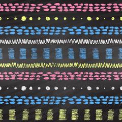 Hand drawn grunge chalked pattern