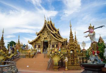 Sangkaew Potiyan Temple in Chiang Rai Province