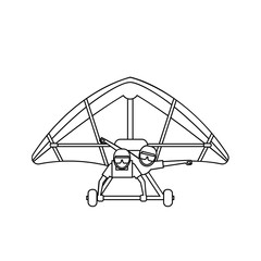 Hang Gliders Icon