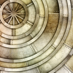 silver metal plate background