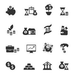Investment Icon Set