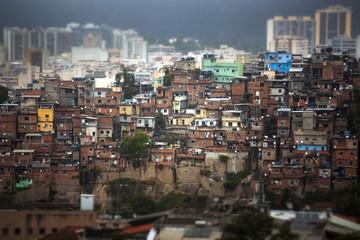 Wall Murals Havana Rio de Janeiro downtown and favela.