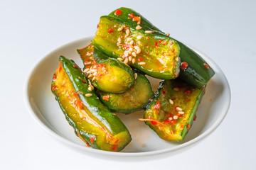 きゅうりのキムチ  Kimchi of the cucumber