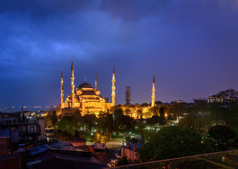 The Sultan Mehmet Mosque Istanbul,Turkey