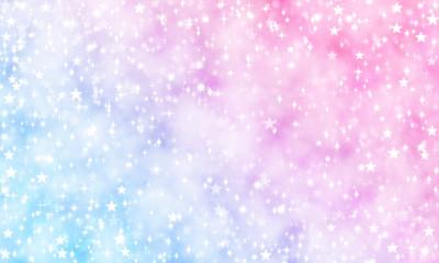 星 ゆめ かわいい キラキラ 背景