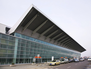 International terminal of Warsaw Chopin Airport. Poland