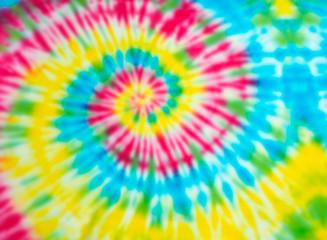 Blur fabric Tie-dye.