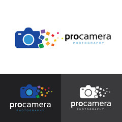 Logo for Icons for Photographers,Photography logo. Camera logo template. Vector logo template.