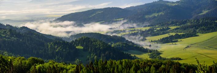 Pieniny - panorama
